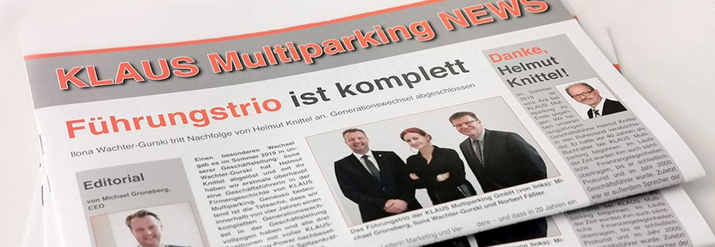 Aktualności od KLAUS Multiparking!