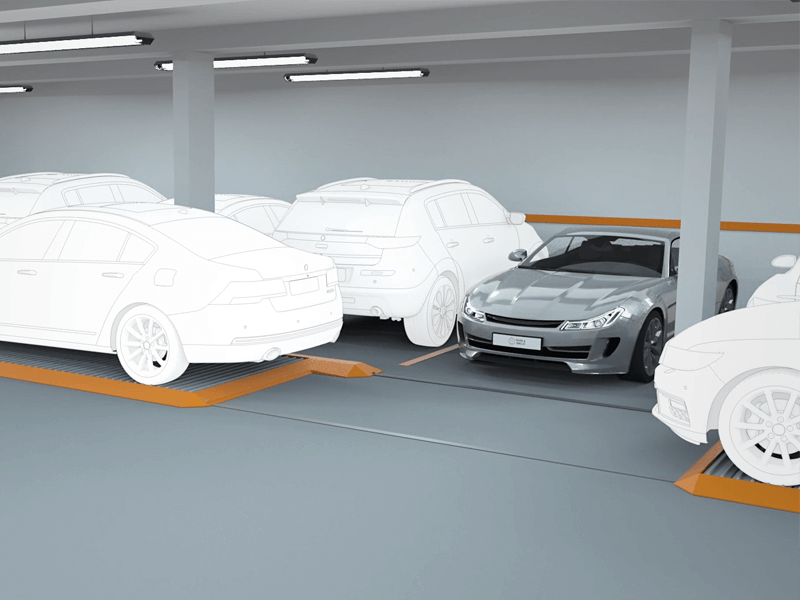 Palety parkingowe