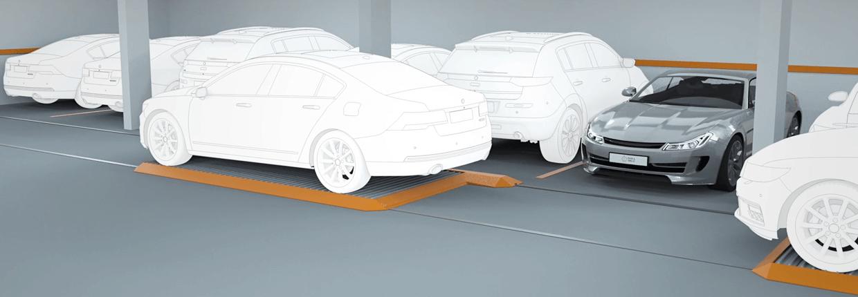Nagłówek palety parkingowe