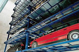 W pełni automatyczne systemy parkingowe KLAUS 1993
