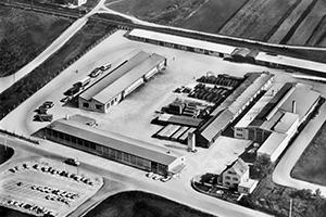 Zakład KLAUS w Memmingen 1948