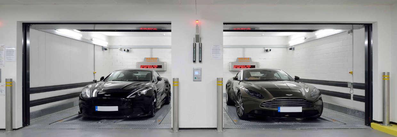 KLAUS Multiparking – nowy, w pełni automatyczny system parkingowy w Londynie